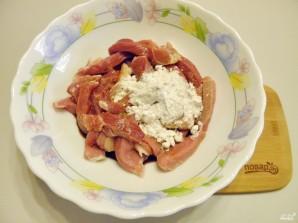 свинина в кисло сладком соусе с имбирем - фото шаг 3