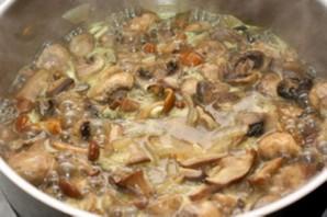 Суп-пюре из сушеных грибов   - фото шаг 2