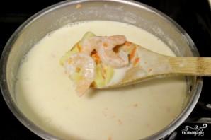 Сливочный суп с креветками - фото шаг 3
