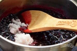 Джем из черной смородины на зиму (быстрый) - фото шаг 2