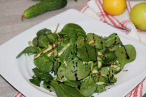 Диетический зелёный салат - фото шаг 12