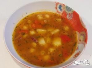 Суп из нута вегетарианский - фото шаг 8