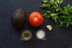 Авокадо на гриле - фото шаг 1