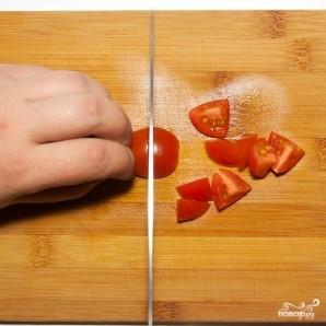 Паста с красной рыбой и красной икрой - фото шаг 3