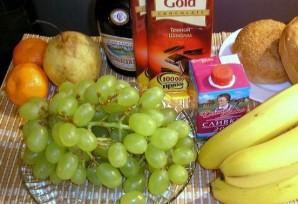 Шоколадное фондю с фруктами - фото шаг 1