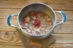 Цыганский острый суп - фото шаг 7