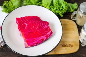 Малосольный лосось от Гордона Рамзи