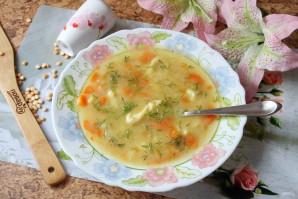 Гороховый суп с клецками - фото шаг 13