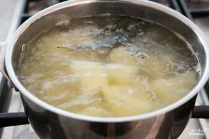 Картофельное пюре со шпинатом - фото шаг 1