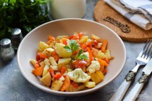 Овощное рагу с сельдереем