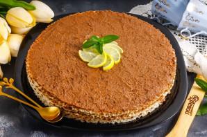 Вафельный торт с медом - фото шаг 7