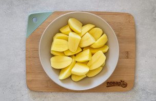 Гарнир из картошки в мультиварке - фото шаг 2