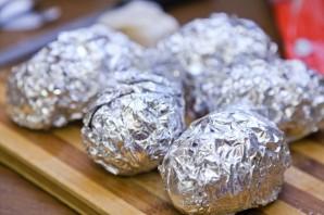 Картошка-гармошка в мультиварке - фото шаг 7