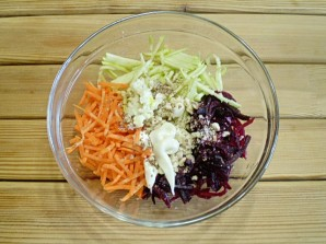 """Овощной салат """"Здоровье""""  - фото шаг 6"""
