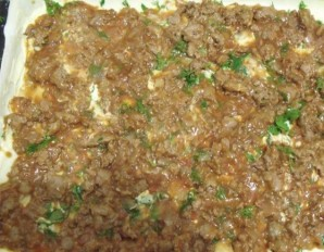 Лазанья с фаршем и помидорами - фото шаг 3