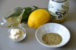 Лимонный соус - фото шаг 1