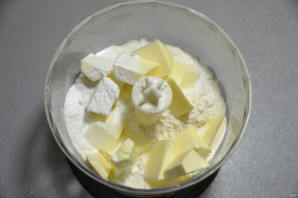 Пирог с зеленым луком и творогом - фото шаг 2