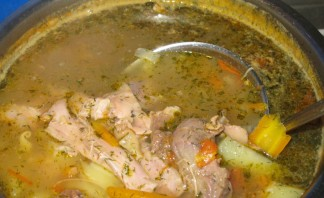 Суп из домашнего петуха - фото шаг 4