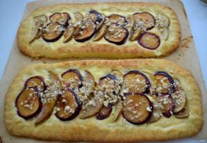 Пирог с грушами и сливами - фото шаг 13