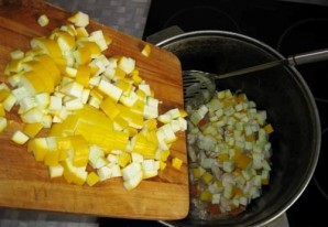 Рагу с мясом и кабачками - фото шаг 4