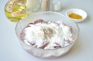 Куриная печень в соусе с карри - фото шаг 2