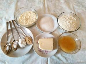 Медово-имбирное печенье - фото шаг 1