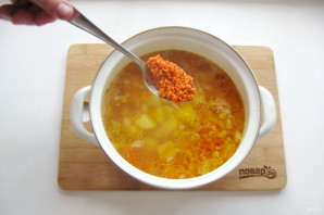 Суп из фасоли и чечевицы - фото шаг 7