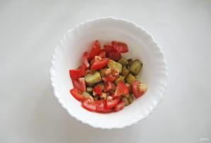 Салат с помидорами и баклажанами - фото шаг 4