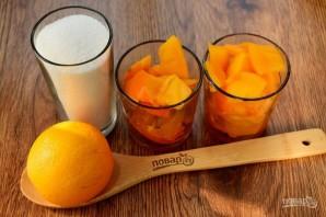 Варенье из хурмы с апельсином - фото шаг 1