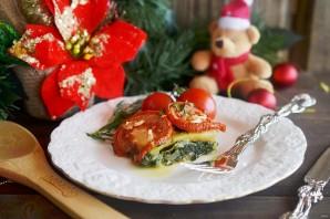 Рыба в духовке со шпинатом и помидорами - фото шаг 8