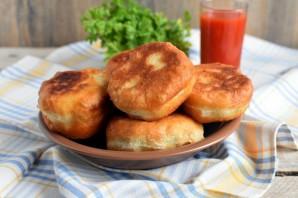 Пирожки с баклажанами, грибами и мясом - фото шаг 8