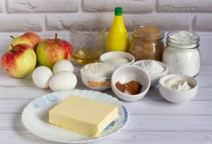 Яблочный пирог по-польски - фото шаг 1