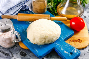 Тесто для пиццы на простокваше - фото шаг 5
