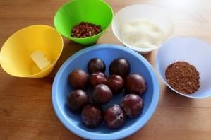 Сливовое варенье с какао - фото шаг 1