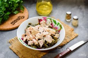 Салат с морской капустой - фото шаг 3