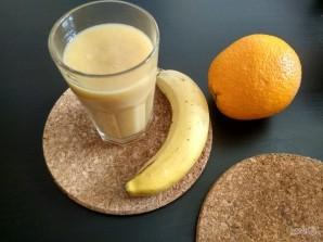 Смузи из банана, апельсина и яблока - фото шаг 5