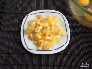 Лимонный бисквитный торт - фото шаг 1