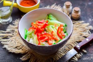 Салат из фунчозы и капусты - фото шаг 4