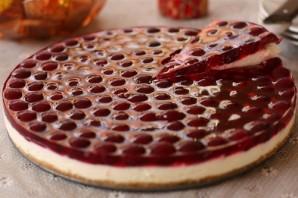 Вишневый торт без выпечки - фото шаг 6
