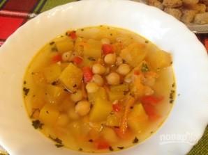 Тыквенный суп с нутом - фото шаг 9