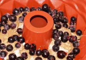 Творожный кекс со смородиной - фото шаг 3
