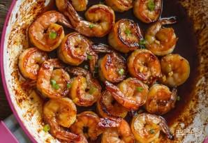Креветки с соевым соусом и чесноком - фото шаг 3