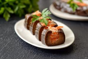 Фаршированные баклажаны с морковью и капустой - фото шаг 9