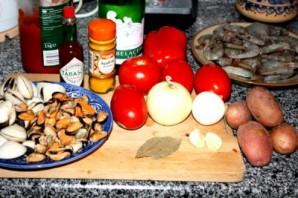 Испанский рыбный суп - фото шаг 1