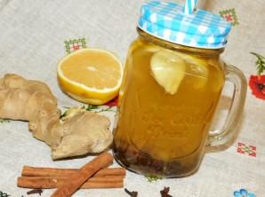 Имбирный чай с медом и лимоном - фото шаг 6