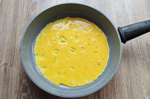 Бризоль с сосиской и сыром - фото шаг 5