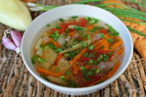 Овощной суп в мультиварке - фото шаг 7