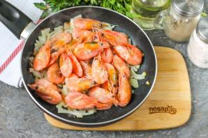 Паста с креветками в томатном соусе - фото шаг 4