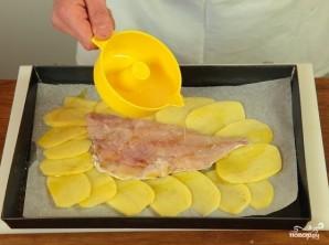 Филе рыбы с картошкой - фото шаг 4