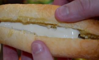 Хот-дог с сыром - фото шаг 5